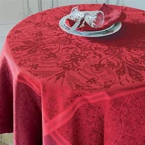 Garnier Thiebaut Gerardmer : nappe de table anti tache style renaissance ~ Melissatoandfro.com Idées de Décoration