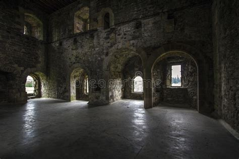 castle interior stock image image  dark interior