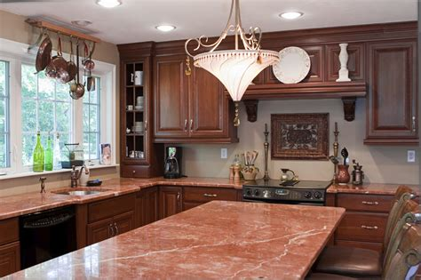 Kitchen Countertops by The Pros Cons Of Tile Countertops