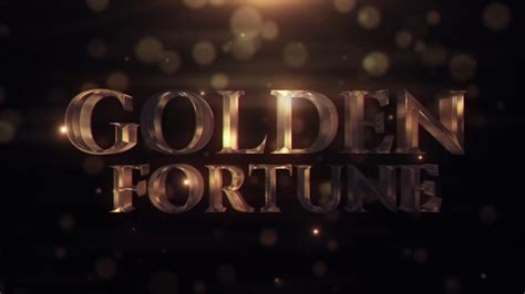 after effects templates free shared videohive golden fortune free after effects template