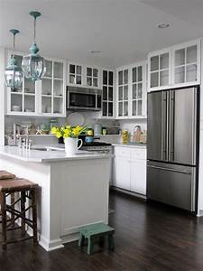 Small kitchen design ideas for Kitchen cabinet trends 2018 combined with canvas wall art set of 4