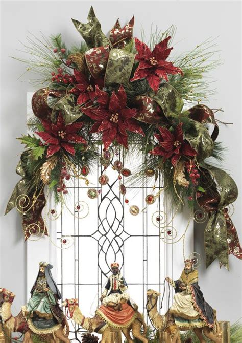 decorated swags wreaths renaissance revelry holiday