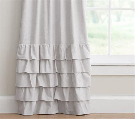 pottery barn linen curtains athena rod pocket blackout