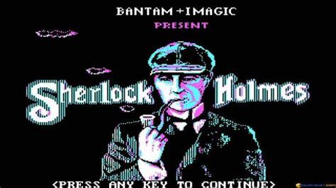 sherlock holmes game pc