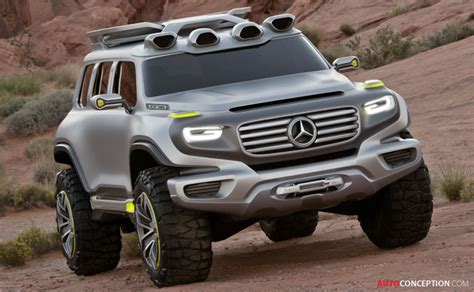 mercedes benz  ener  force suv concept design study