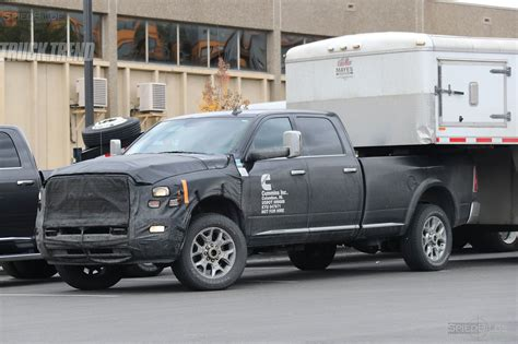Spied 2018 Ram 25003500 Heavy Duty With Updated Cummins?