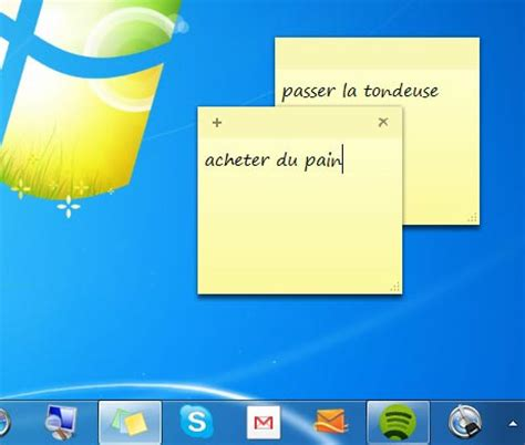 post it sur bureau windows 7 prendre des notes sous windows 7 mode d 39 emploi quot jesus