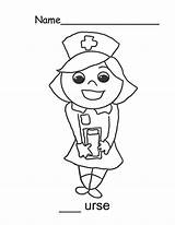 Nurse Coloring Pages Smile Cartoon Sweet Drawing Template Pdf Netart Printable Getdrawings Adults Cool sketch template