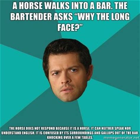 Supernatural Castiel Memes - 17 best images about castiel s anti jokes on pinterest funny a way of life and cas