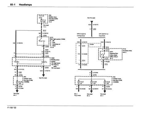 Headlight Wiring Diagram Ford Forum Community