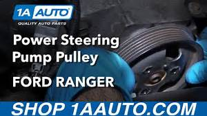How To Install Replace Power Steering Pump Pulley 4 0l