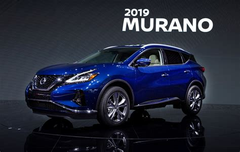 2019 Nissan Murano by 2019 Nissan Murano Gets Us Price Tag The News Wheel
