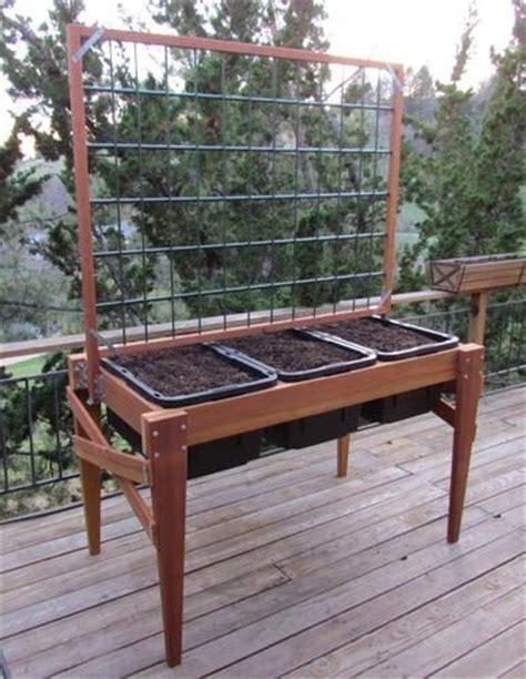 waist high raised bed garden planter 67 quot x 34 quot pdf