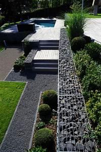 Gartengestaltung Hang Modern : 100 ideen zur gartengestaltung modernes design f r den ~ Lizthompson.info Haus und Dekorationen