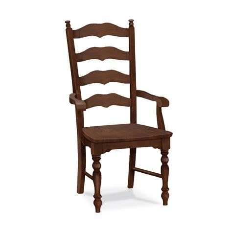 maine ladderback arm chair c 2170ab