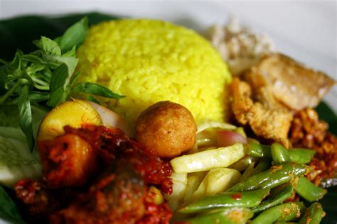 nasi kuning yellow rice indonesian recipes