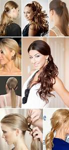 Hairstyle Ponytail With Hair Wrapped Around 2016 | Rachael ...