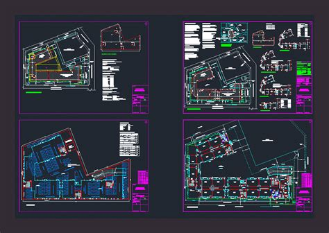 secondary school dwg plan  autocad designs cad