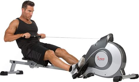 Sunny Health and Fitness SF-RW5515 Magnetic Rowing Machine ...