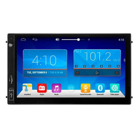 android 4 4 car stereo free shipping ezonetronics android 4 4 universal