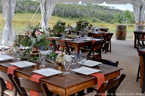 tables colorado event rentals