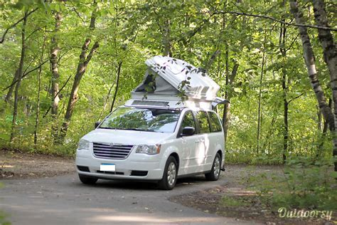 2010 Chrysler Town & Country Motor Home Camper Van Rental