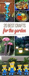 20 Best Crafts for the Garden - One Little Project