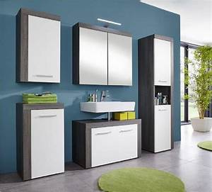 Badezimmer Einrichten Online : spiegelschrank miami badezimmer schrank sardegna rauchsilber grau led spiegellampe kaufen bei ~ Markanthonyermac.com Haus und Dekorationen