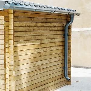 Gouttière Pour Abri De Jardin : kit goutti res anthracite pack pr t la pose pour abri gardy shelter 9m ~ Melissatoandfro.com Idées de Décoration