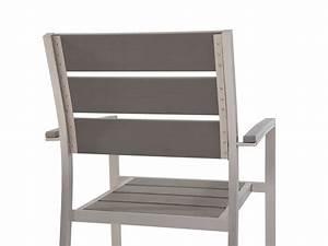 Polywood Gartenmöbel Set : gartenm bel set aluminium tisch 180cm 6x stuhl polywood arida ~ Frokenaadalensverden.com Haus und Dekorationen