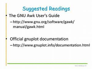 Ns2  Awk And Gnuplot