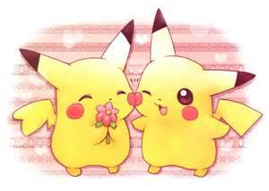 Pokemon Cute Pikachu Love