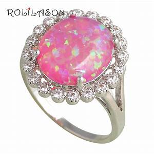 wedding rings for women big oval purple fire opal silver With big oval wedding rings