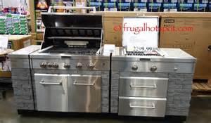 costco kitchen island costco sale kitchenaid 7 burner island grill 1 999 99 frugal hotspot