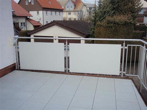 Balkon Sichtschutz Platten by Balkon Sichtschutz Hpl Platten Gel 228 Nder F 252 R Au 223 En