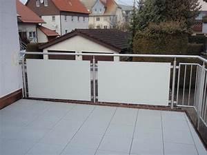 Platten Für Balkon : balkon sichtschutz hpl platten gel nder f r au en ~ Lizthompson.info Haus und Dekorationen