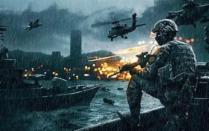 Battlefield Rain Animated Imgur Pc Background Soldier