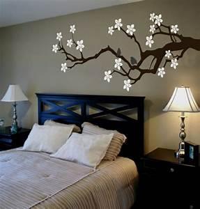 Bilder Für Schlafzimmer Wand : schlafzimmerwand gestalten interessante ideen zum nachfolgen ~ Michelbontemps.com Haus und Dekorationen