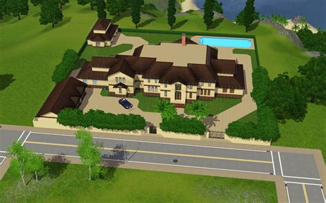 mansion floor plans sims house plans