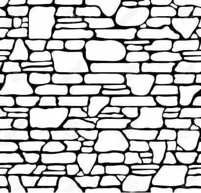 Brick Texture Stone Seamless Grunge Drawing Sketch