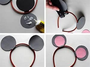 Mickey Mouse Kostüm Selber Machen : bastelanleitung s e ohrenparade ~ Frokenaadalensverden.com Haus und Dekorationen