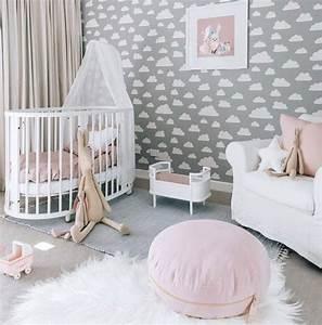 Deko Babyzimmer Mädchen : babyzimmer gestalten babywiege anleitung und 40 tolle ideen diy kinderzimmer zenideen ~ Frokenaadalensverden.com Haus und Dekorationen