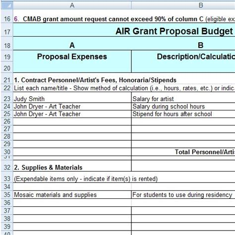 grant budget template 304 best images about grant management on