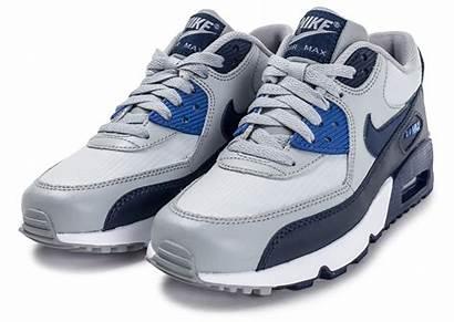 Nike Junior Grise Bleue Mesh Ados Running