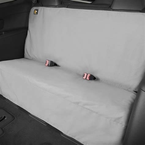 weathertech seat protector row tan pet gray covers 2nd 3rd bench carid installation rear vehicle