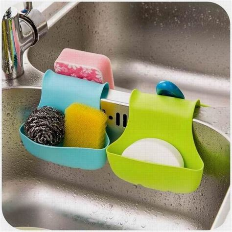 sponge caddy for sink popular double sink caddy kitchen tool organizer storage