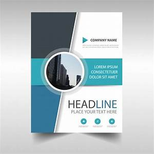 Abstract Annual Report Book Cover Template