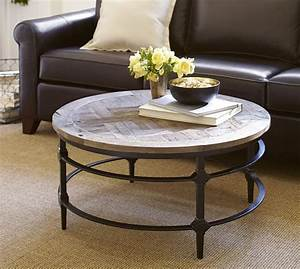 reclaimed wood coffee table round roselawnlutheran With parquet reclaimed wood coffee table