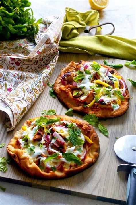 tandoori chicken naan pizza indian chicken recipes