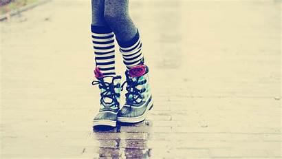 Wallpapers Socks Knee Leg Teenager Legwear Striped